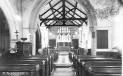 The Church Interior c.1960, Beeford