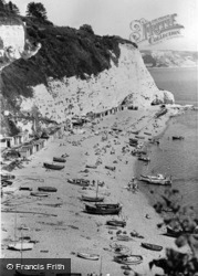 Beach And Cliffs c.1955, Beer