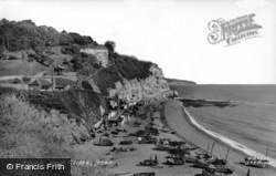 Beach And Cliffs c.1965, Beer