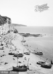 Beer, Boats On The Beach c.1965