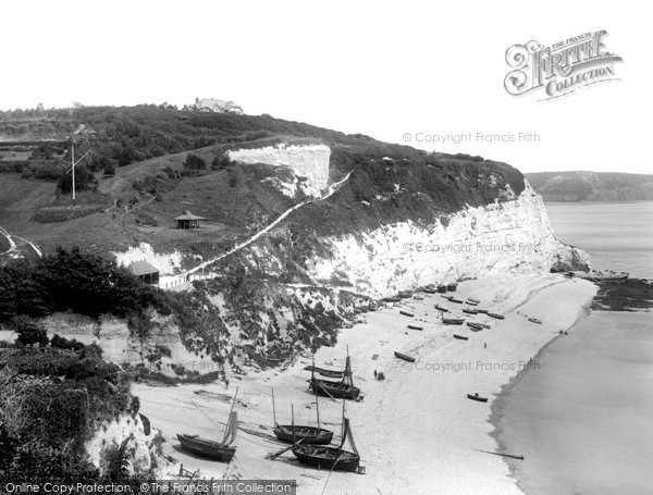 Beer, East Cliff 1907