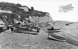 Fishing Boats c.1960, Beer