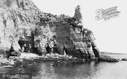 Beer, Smugglers' Caves 1907