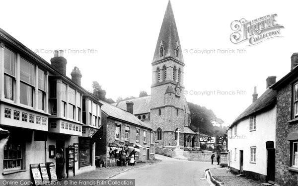 Beer, St Michael's Church 1922