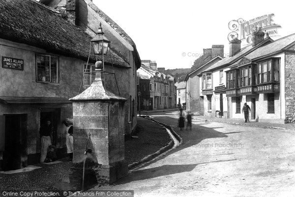Beer, Street And New Inn 1901