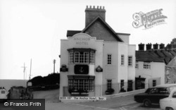 The Anchor Hotel c.1970, Beer