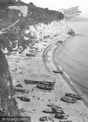 Beer, The Beach And Cliffs 1927
