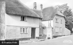 Beer, The Shepherd's Cottage c.1955