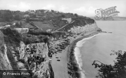 View From West Cliffs c.1950, Beer