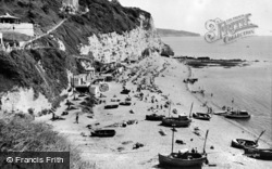 White Cliff And Beach c.1965, Beer