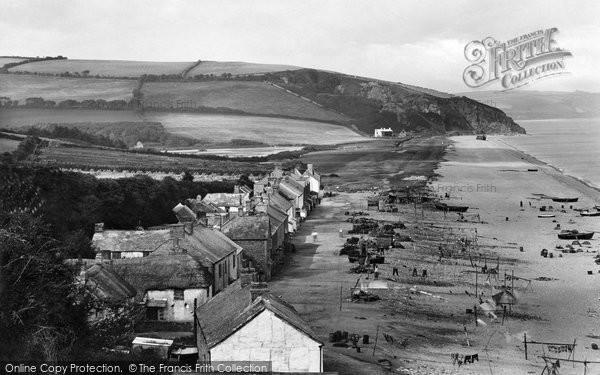Beesands, The Village 1924