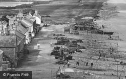 The Village And Fishing Nets 1924, Beesands