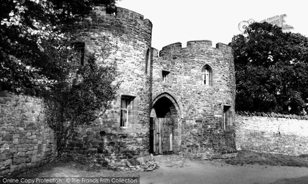 Beeston, Castle Entrance c.1955