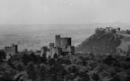 Beeston, Peckforten Castles c.1955