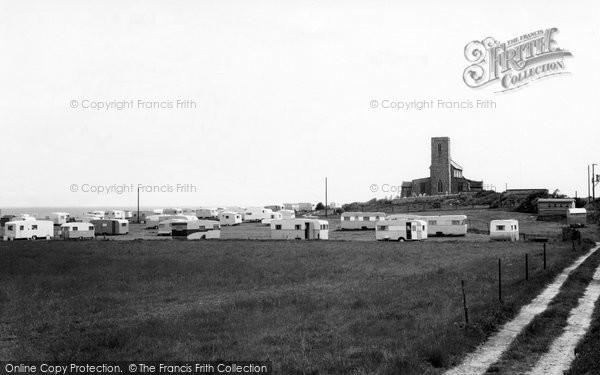 Photo of Beeston Regis, Caravan Site c1955