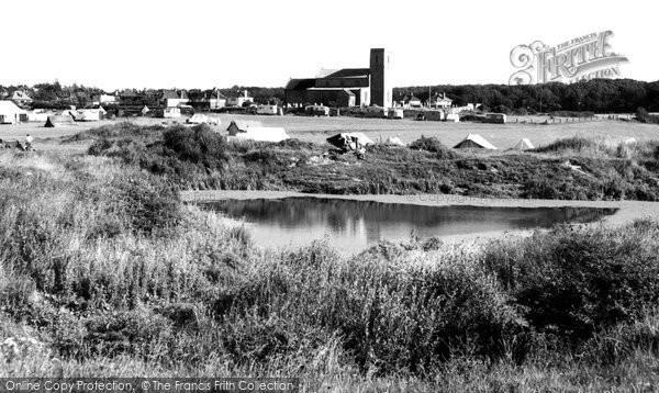 Beeston Regis, The Camping Site c.1955