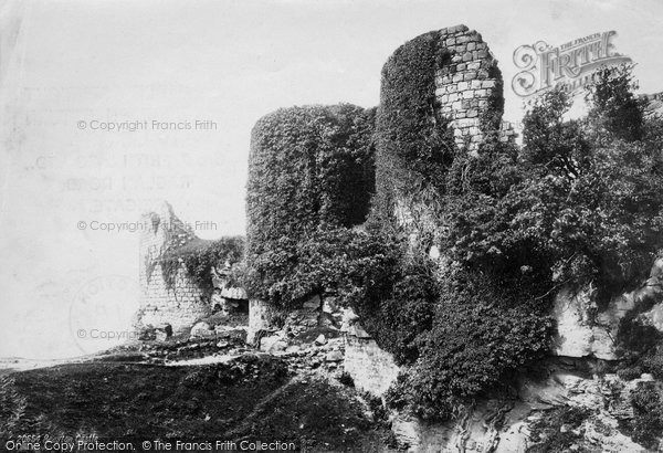 Beeston, The Castle, From The South East 1888