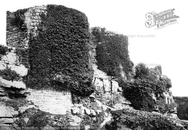 Beeston, The Castle, From The South West 1888