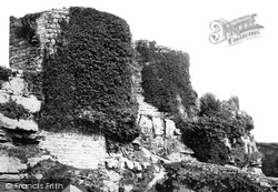 The Castle, From The South West 1888, Beeston