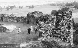 Beeston, The Castle Wall c.1965