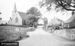Beeswing, Lochend Church c.1955