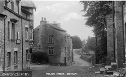 Village Street c.1955, Beetham