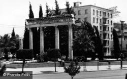 Beirut, Roman Columns Outside The National Museum 1965