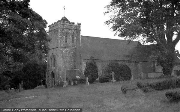 Bekesbourne, St Peter's Church 1952