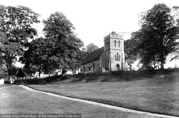 Bekesbourne, Church and Lychgate 1903