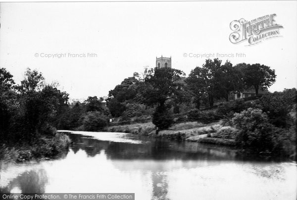 Belaugh, River Bure And St Peter's Church c.1930