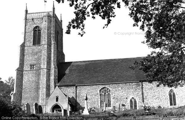 Belaugh, St Peter's Church c.1955