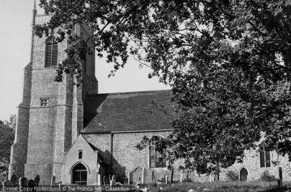 Belaugh, St Peter's Church c.1955
