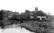 Belaugh, The Village From River Bure c.1930