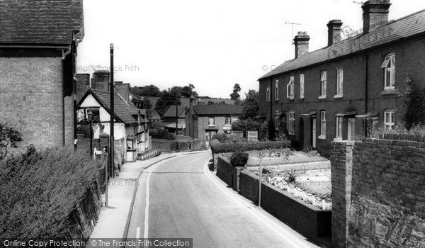 Belbroughton, Church Road c.1960
