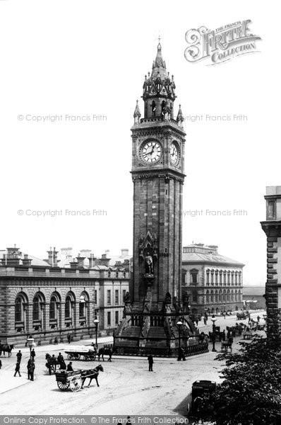 Photo of Belfast, Albert Memorial 1897