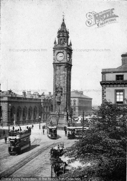 Photo of Belfast, Albert Memorial c.1910