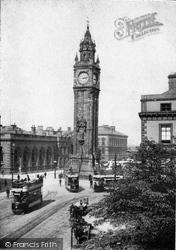Belfast, Albert Memorial c.1910