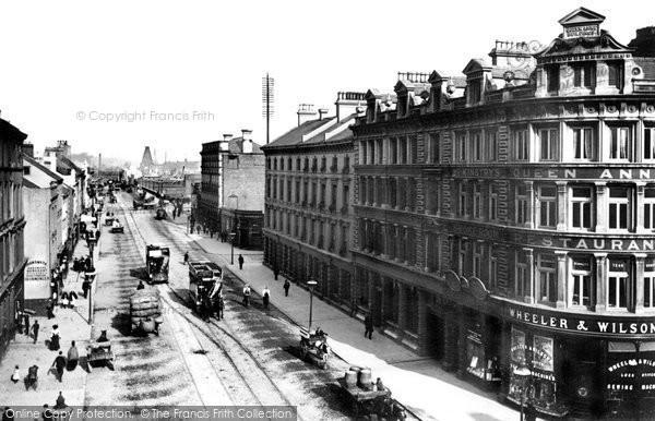 Photo of Belfast, Ann Street 1897