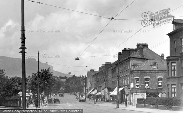 Photo of Belfast, Antrim Road And Cave Hill 1936
