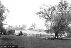 Belfast, Botanic Gardens And Queen's College 1897