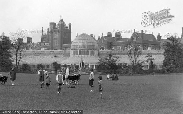 Photo of Belfast, Botanic Gardens Conservatory 1936