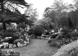 Belfast, Botanic Gardens, Rock Garden 1936