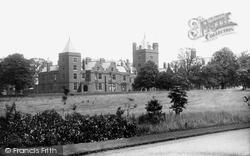 Belfast, Campbell College From Entrance 1897