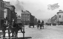 Belfast, Cart In Corporation Square 1897