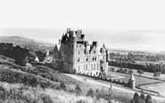 Belfast, Castle And Lough 1897