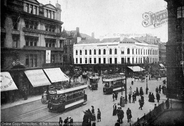 Photo of Belfast, Castle Junction c.1910