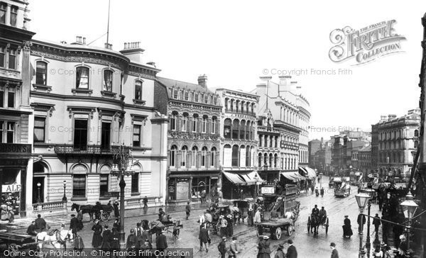 Photo of Belfast, Castle Place 1897