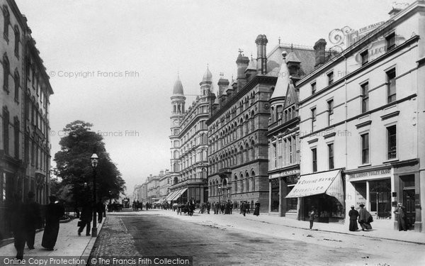 Photo of Belfast, Chichester Place 1897