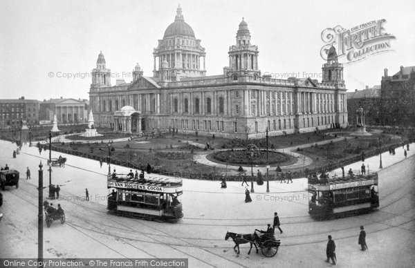 Photo Of Belfast City Hall C1910 Francis Frith