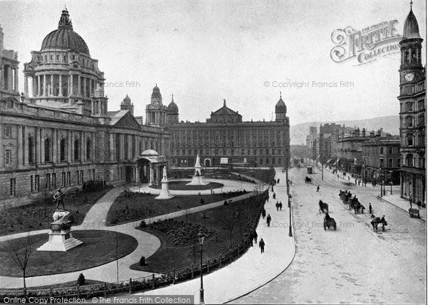 Photo of Belfast, City Hall c.1910